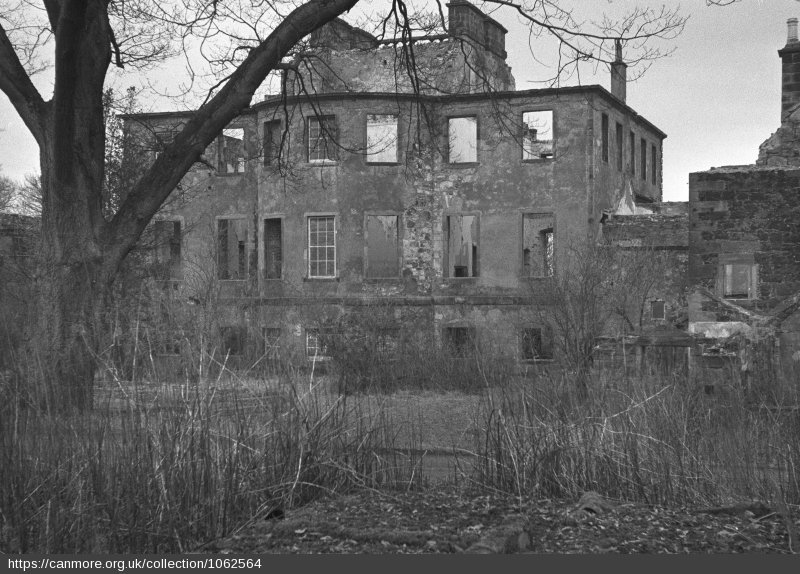 The rear of Largo House - Photo 1957