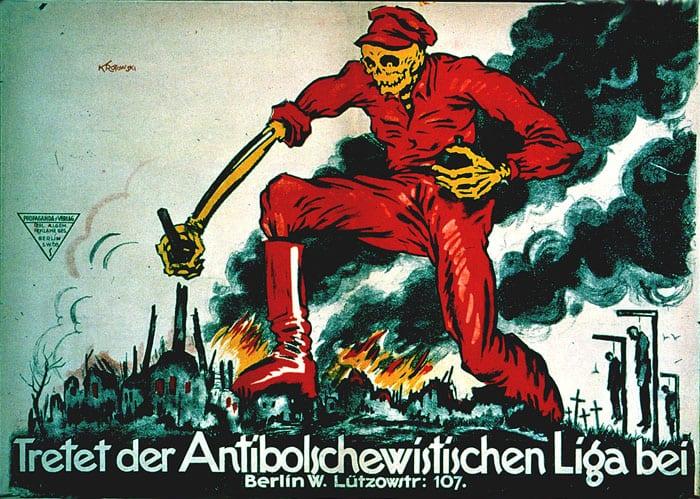 Anti-Bolshevist Poster