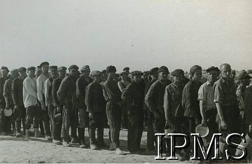 Forming Of Anders Army - In USSR - Queing For A Meal - Karta 1371