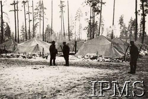 Forming Of Anders Army - Koltubanka - Karta 1937