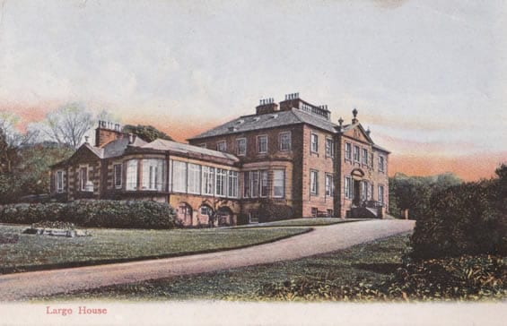 Stunning Largo House back in it's heyday