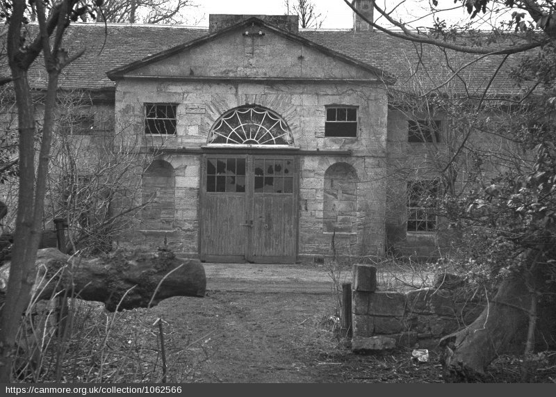 The stables of Largo House - Photo 1957