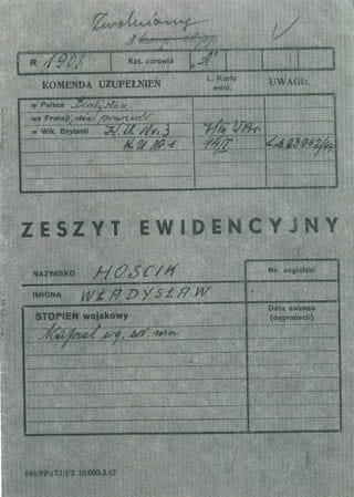Military Zeszyt Ewidencyjny P01 - Web