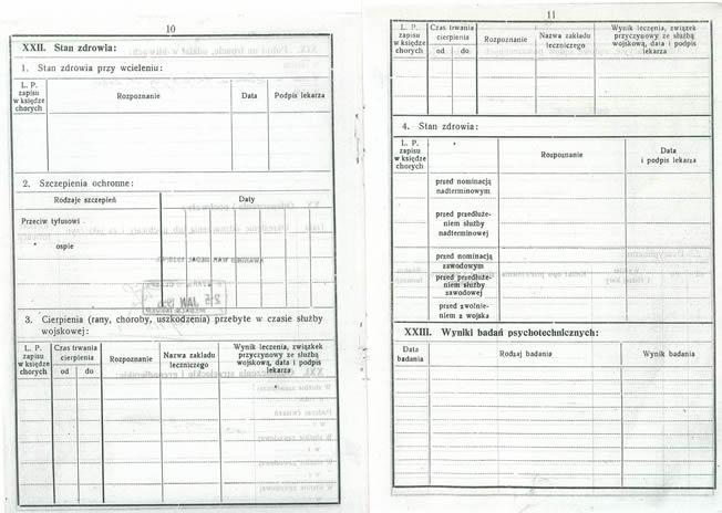 Military Zeszyt Ewidencyjny P07 - Web
