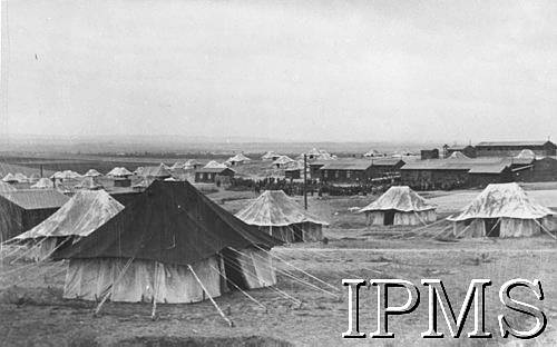 Poles In Middle East - Refugee Camp In Persia - Karta 2642