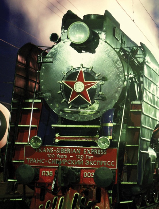 The type of train used in the 1939 deportations of the Polish citizens to Russia