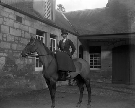 The Stables At Largo House Pre 1940