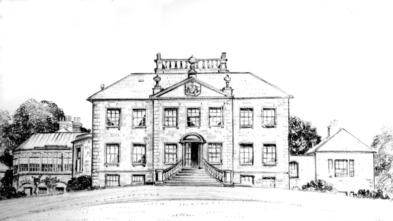 Largo House Sketch